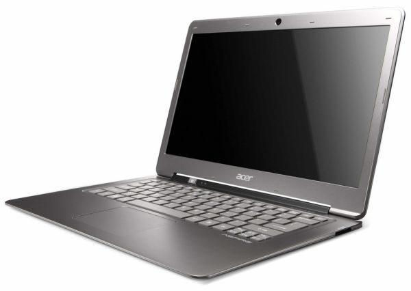 The Acer Aspire S3 is set to be one of the first ever ultrabooks.