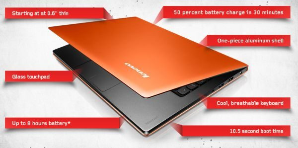 Lenovo's ultrabook comes with very many interesting features.