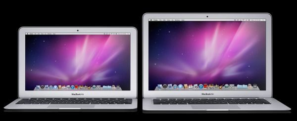 The MacBook Air is available, much like the Samsung Series 9, in 11.6 and 13.3-inch versions.