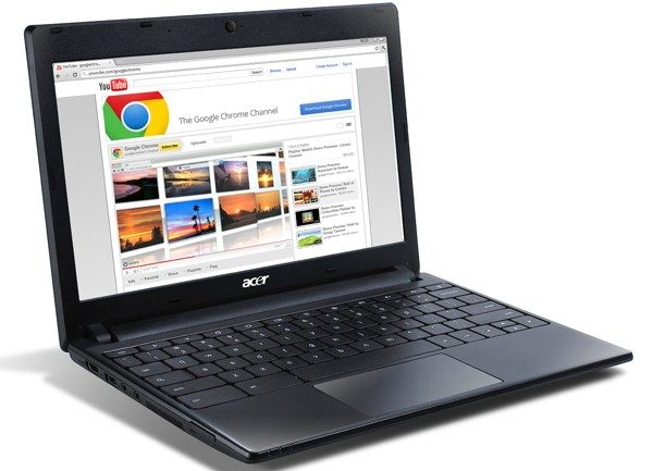 The Acer AC700 is one of the two chromebooks available on today's market.
