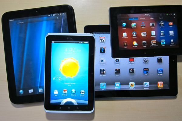 Tablets are more portable and have stronger batteries than ultrabooks, but are overall slower and less functional.