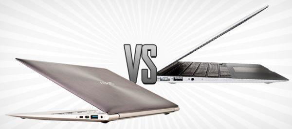 Asus Zenbook UX31 Vs Apple MacBook Air