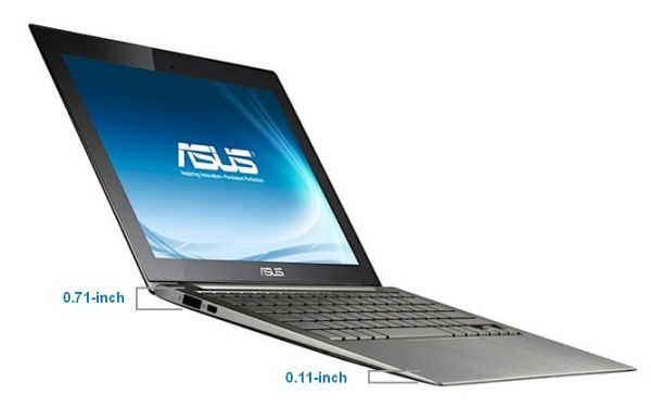 The Asus UX31 features a pretty great screen, but also a very snappy processor.