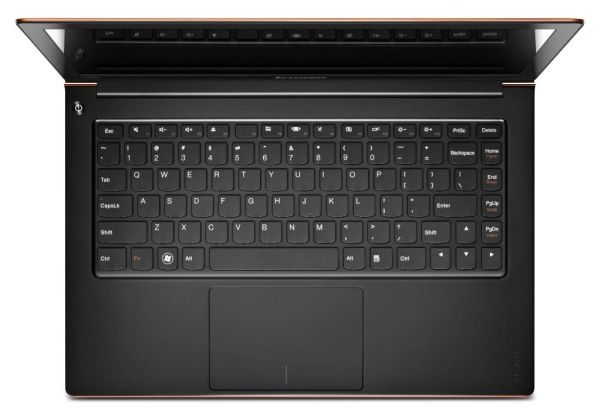 Lenovo's ultrabooks has a great keyboard-touchpad combo.