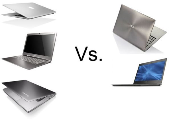 If we leave the MacBook Air out of the equation, the rest of today's ultrabooks are pretty much as strong, reliable and fashionable.