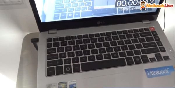 The keyboard/touchpad combo could be the best on an ultrabook so far.