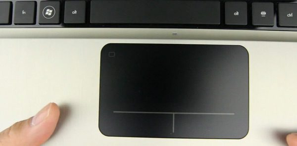 Stiff trackpad though