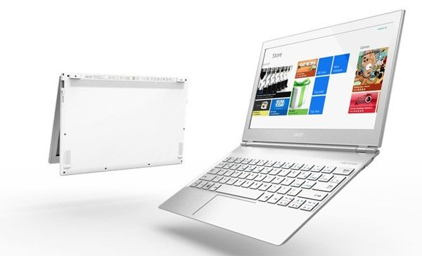 Acer Aspire S7 - some of the first ultrabook tablets, with convertible touchscreens