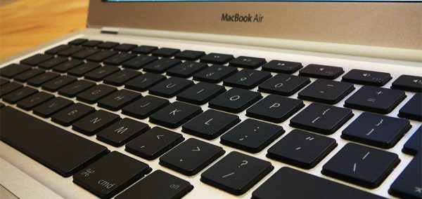 You'll hardly find a better keyboard than the one on the MBA on an ultraportable