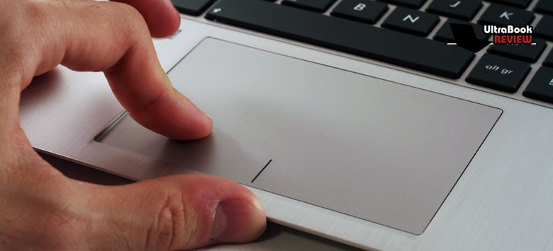 The trackpad worked just fine most of the time