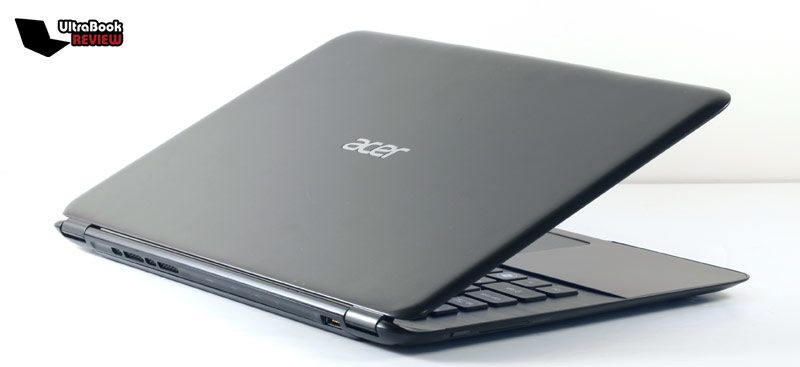 The Acer Aspire S5 is thin and light