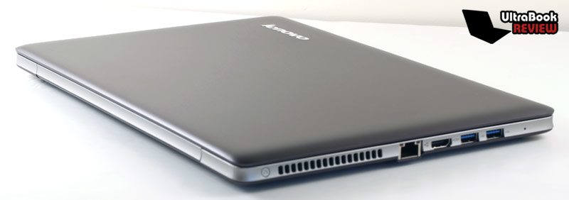 It is however slightly heavier and bulkier than the average 13.3 inch ultrabook