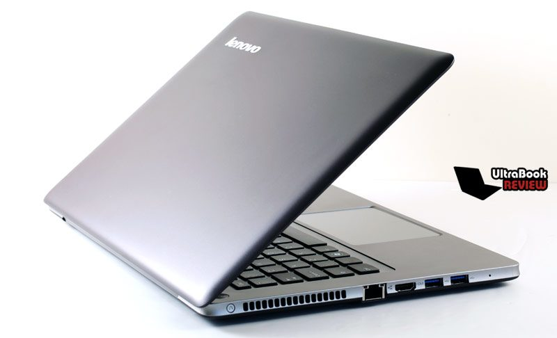 The Lenovo IdeaPad U310 is sturdy,m despite not sporting a full-metal body