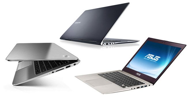 Ultrabooks and thin, light and fancy looking
