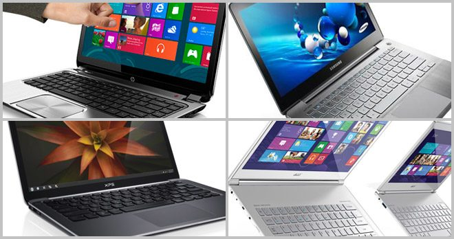 There are plenty of ultrabooks to choose from and the prices range from $500 to $1500 or even more