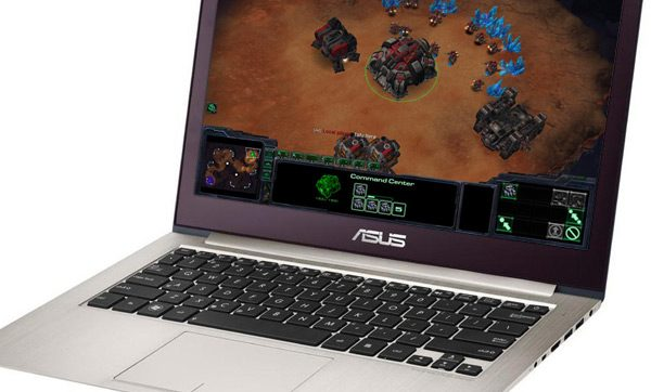 While not very powerful, the Asus UX32VD is the most compact gaming ultrabook