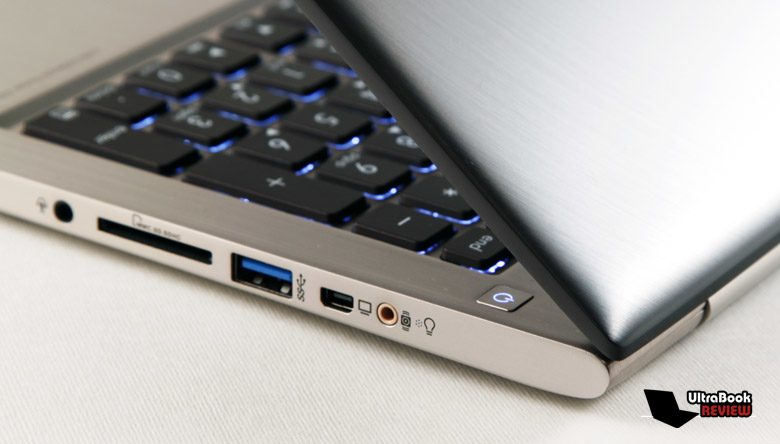When it comes to details and built quality, the Asus Zenbook U500 steps in front of the crowd