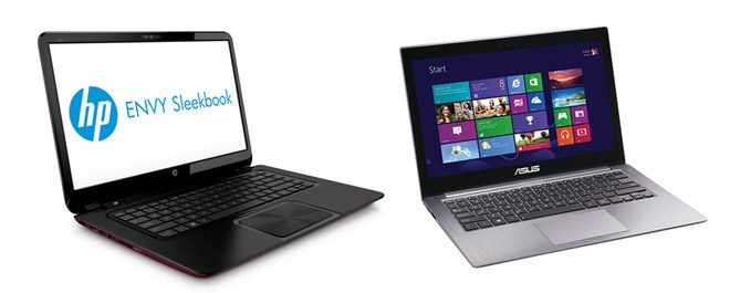 HP and Asus have some interesting Sleekbooks in their offer