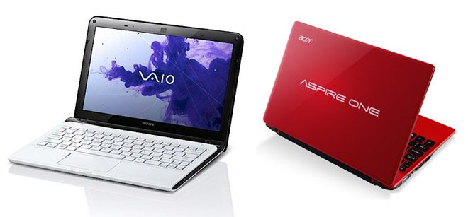 The Sony Vaio E11 and the Acer Aspire ONE 725 are also good alternatives, but they might not be that easy to find in stores