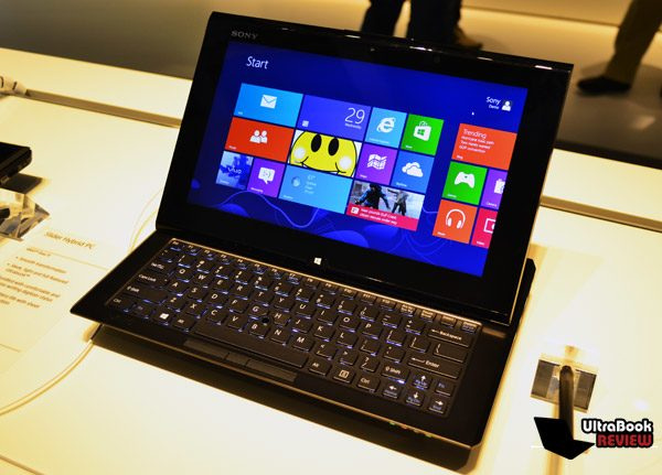 Is it a tablet? Is it an ultrabook? It's the Sony Vaio Duo 11!