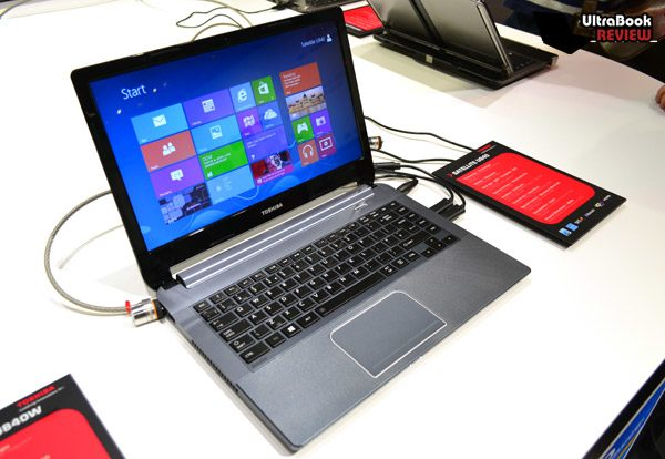 The U940 is clearly not an ugly or tacky ultrabook, but it's not as elegant as the U840 either.
