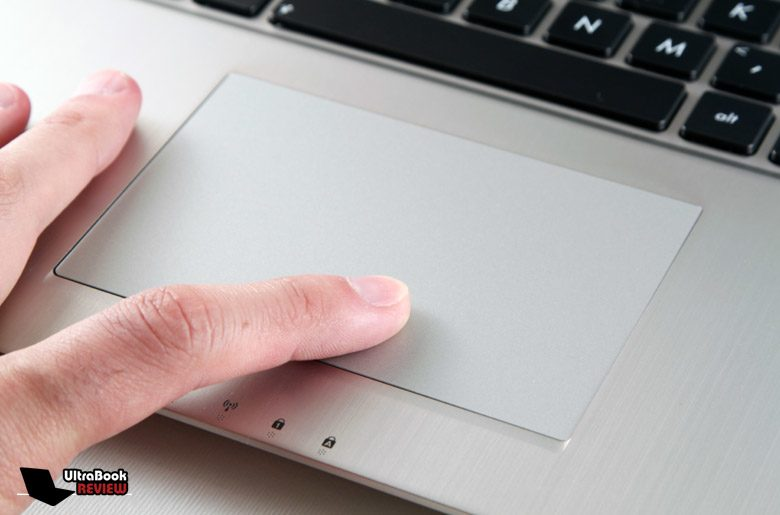 The trackpad can get jumpy and the click buttons are a bit stiff