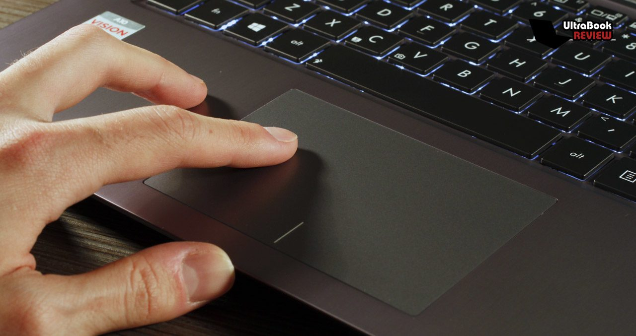 Accurate trackpad, but way too stiff