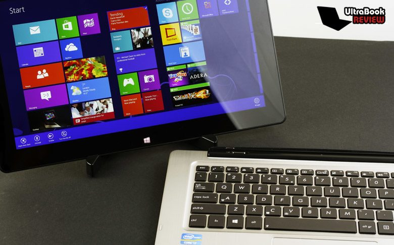 The Asus Transformer Books: a stand alone Windows tablet with a multifunctional dock