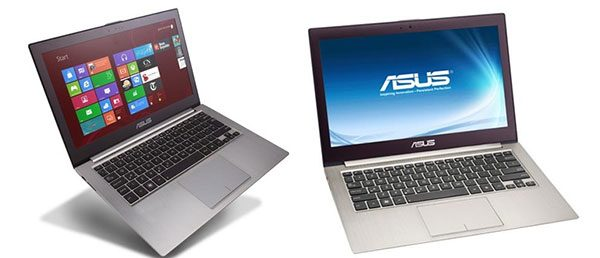 It's difficult to set the 13 inch Zenbooks apart, as the important differences lies inside