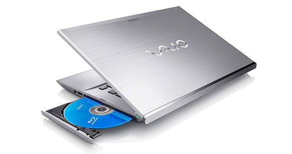 The best you can do right now is get a 14 inch ultrabook with DVD/Bluray drive, like the Vaio T Series