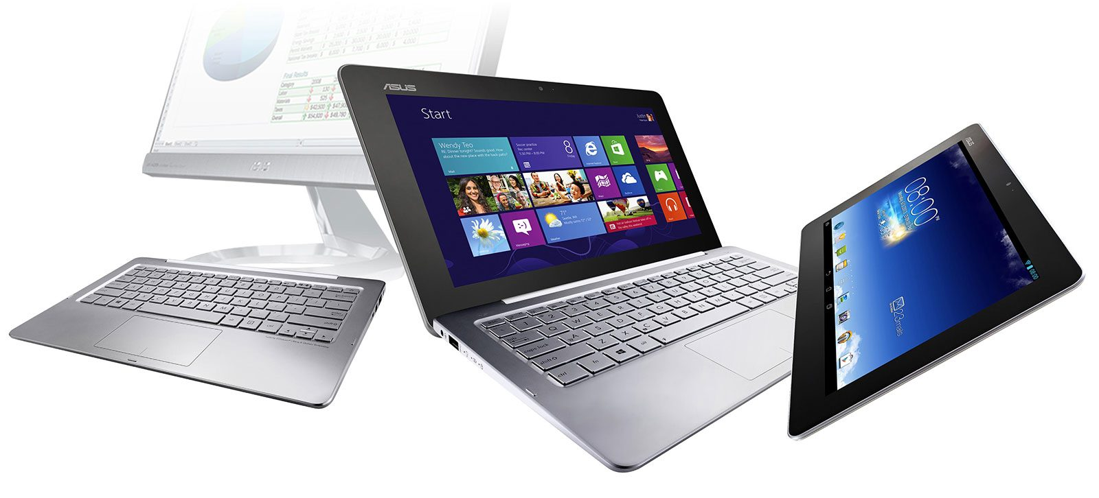 Asus Transformer Book Trio - tablet, desktop and laptop, all-in-one