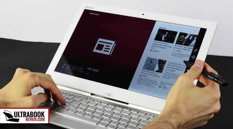 The Sony Vaio Duo 13 can be more than the regular laptop/tablet