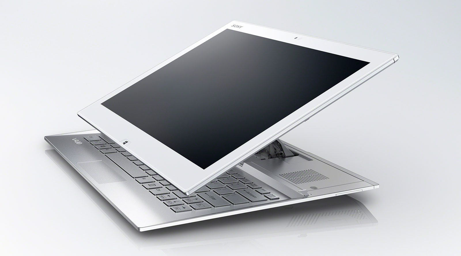 Sony Vaio Duo 13 - the sliding mechanism was improved