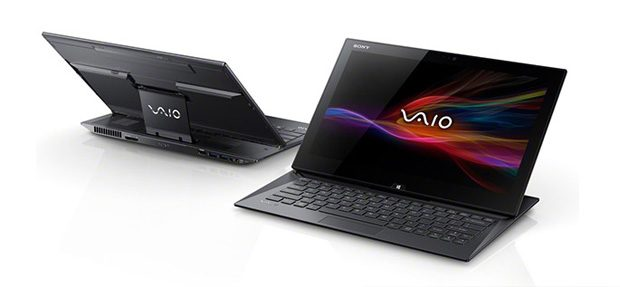 Sony Vaio Duo 13 - a slider with a digitizer and a pen