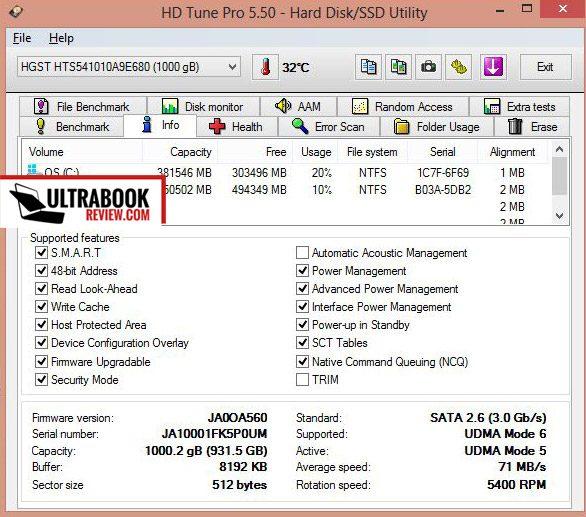 Asus Vivobook S551LB / V551LB review - a good 15 6 inch