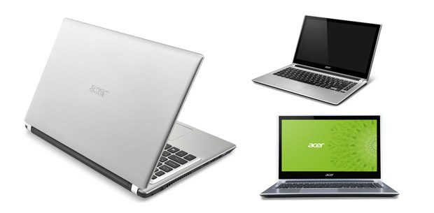 The Acer Aspire V5 line of cheap ultrabooks