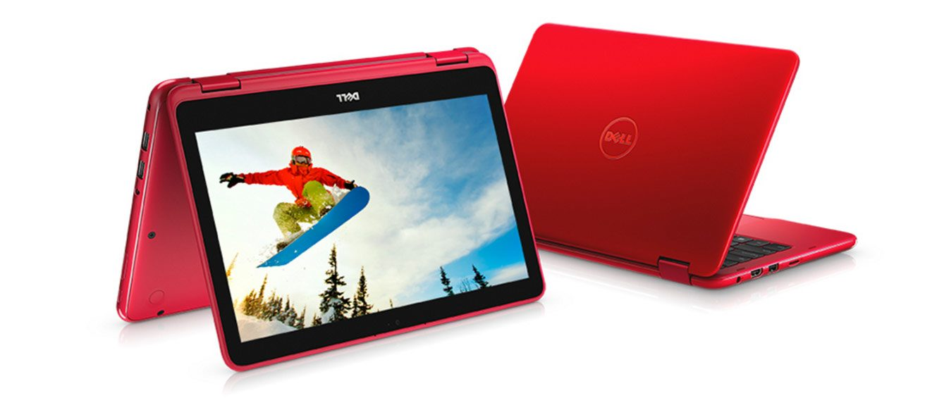 Dell'll inspiron 11 3000 is available in many colors and configurations
