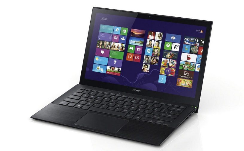 The Vaio Pro 13 is a light and aggressive looking ultrabooks