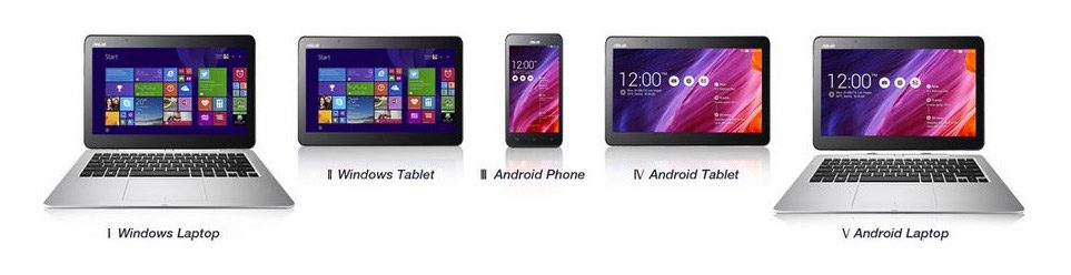 Asus Transformer Book V - 5 devices in 1
