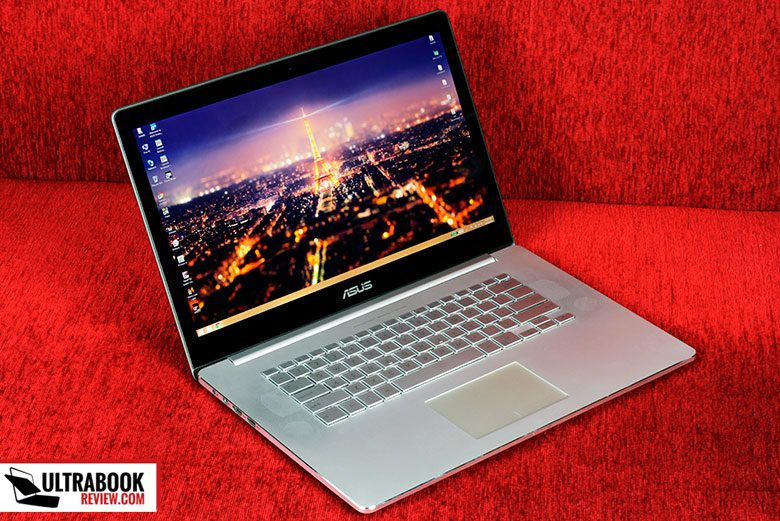 The Asus Zenbook NX500JK is beautiful and solid built