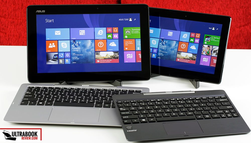 The T200TA and the T100TAM Transformer Books - brand new affordable 2-in-1s