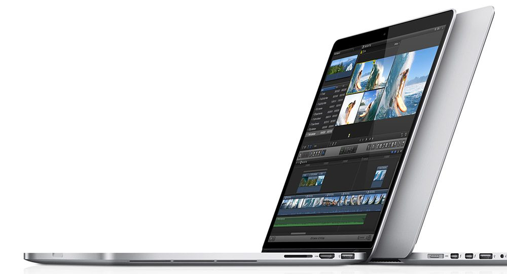 But the more compact Macbook Pro 13 is absolutely stunning as well
