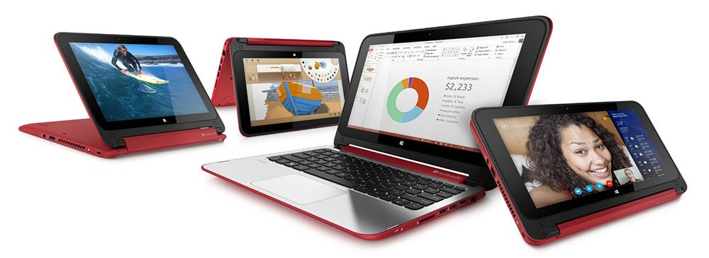 The HP Pavilion x360 is a good alternative to the Dell Inspiron 11 3000