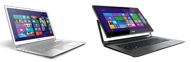 Acer's top 13 inch ultrabooks will get Broadwell updates later this month