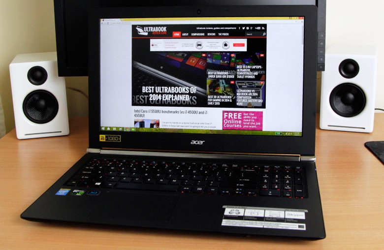 This post is about the Broadwell powered Acer Aspire V 15 Nitro VN7-571G