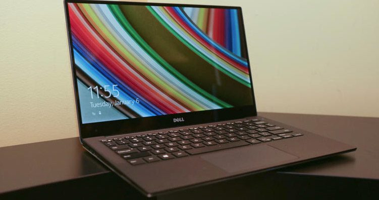 Dell's XPS 13 2015 is stunningly compact - pic via Cnet