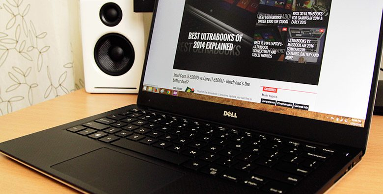 This is the Dell XPS 13 2015, an ultraportable that actually managed to impress me