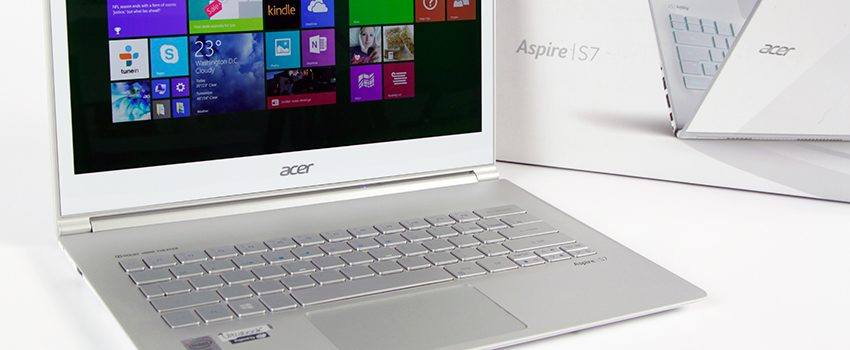 Acer Aspire S7-393 review – a bump to Broadwell