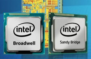 When it coems to raw CPU power, the Broadwell U Core i7 processors barely outmatch the 4 years old SandyBridge M Core i7 CPUs