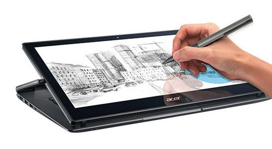 The R13 includes a Digitizer and Pen support